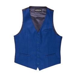 Bright Blue Tailored Suit Vest