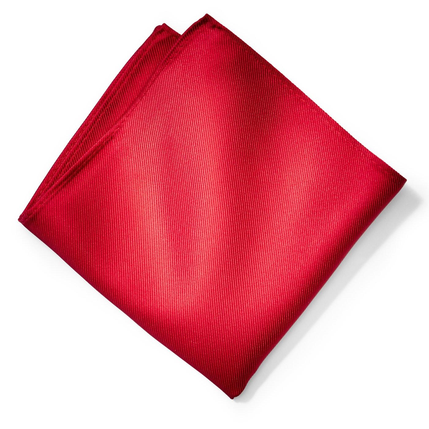 Ruby Pocket Square