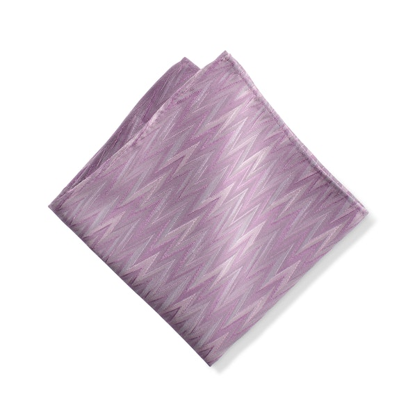 Bouquet Zig Zag Pocket Square
