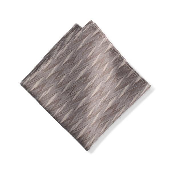 Portobello Zig Zag Pocket Square