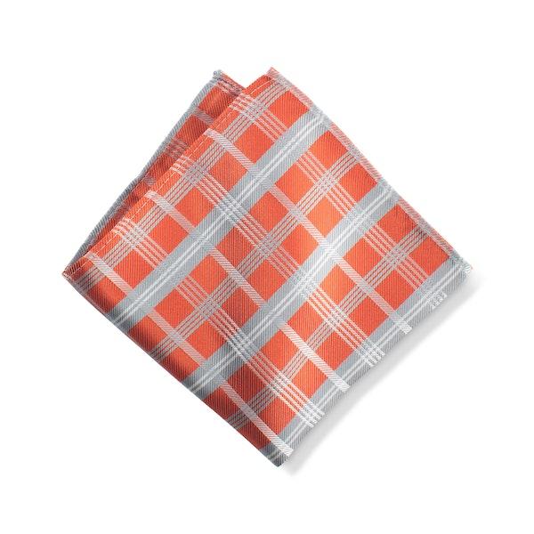 Jalapeno Plaid Pocket Square