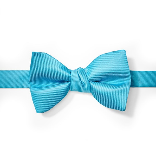 Aqua-Malibu Bow Tie