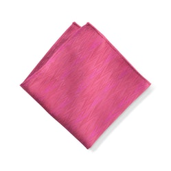 Deep Pink Zig Zag Pocket Square
