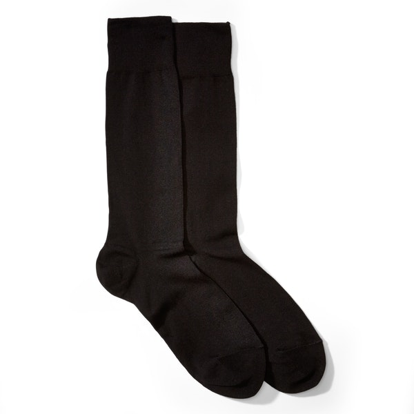 Formal Black Socks