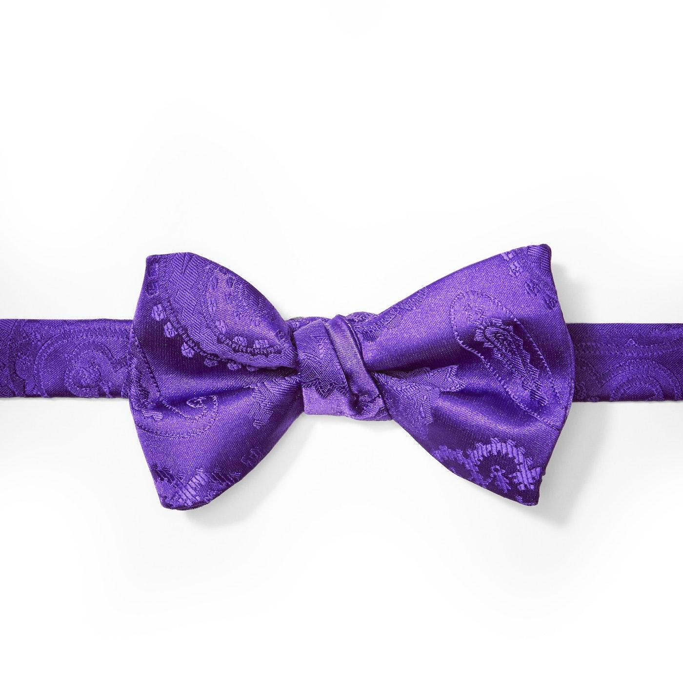 Viola Paisley Pre-Tied Bow Tie
