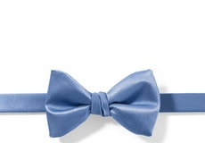 Cornflower Pre-Tied Bow Tie