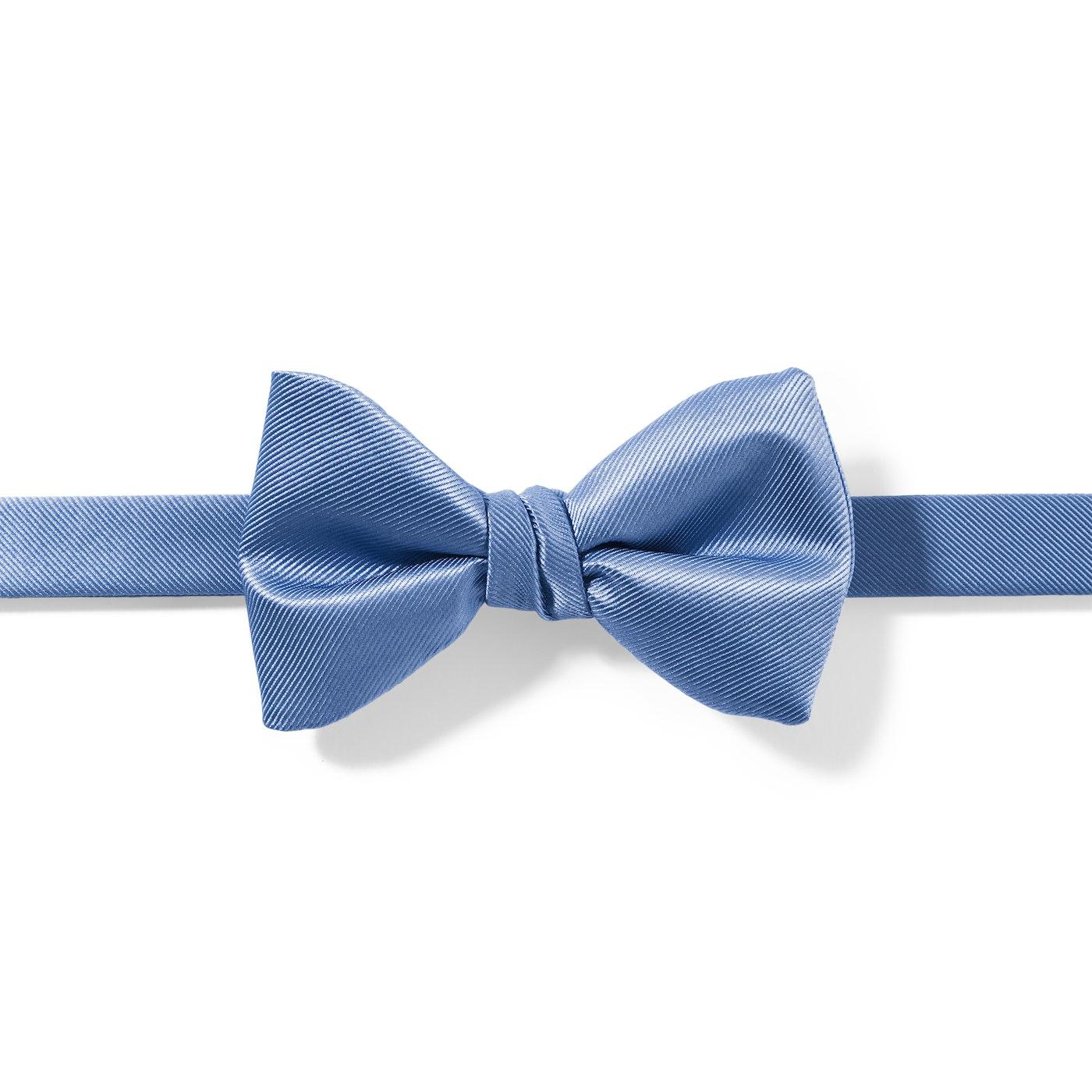 Cornflower Blue Pre-Tied Bow Tie
