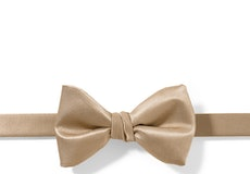 Toffee Pre-Tied Bow Tie