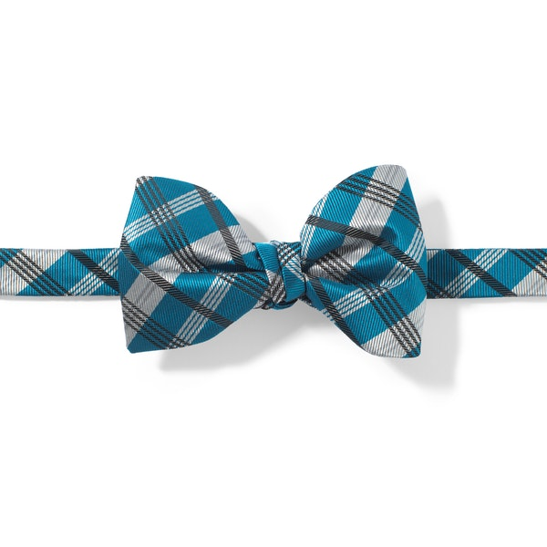 Pacific Plaid Pre-Tied Bow Tie