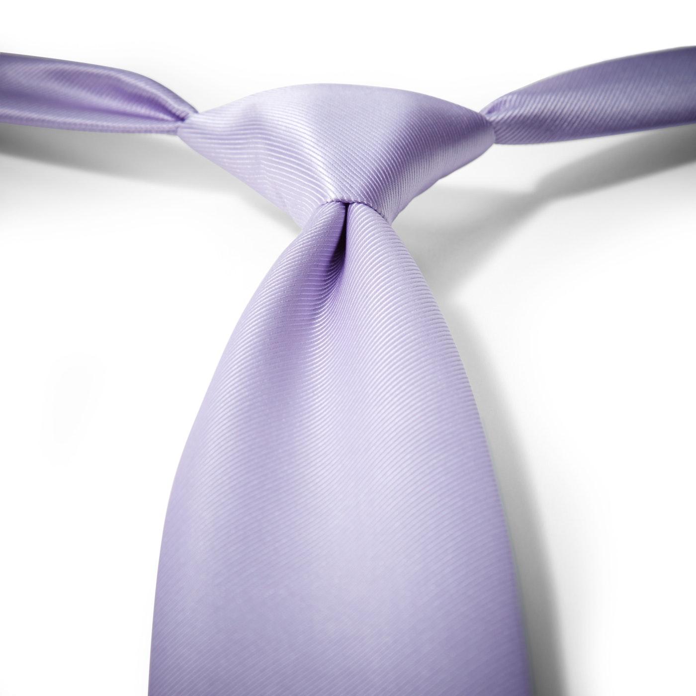 Lilac Pre-Tied Tie