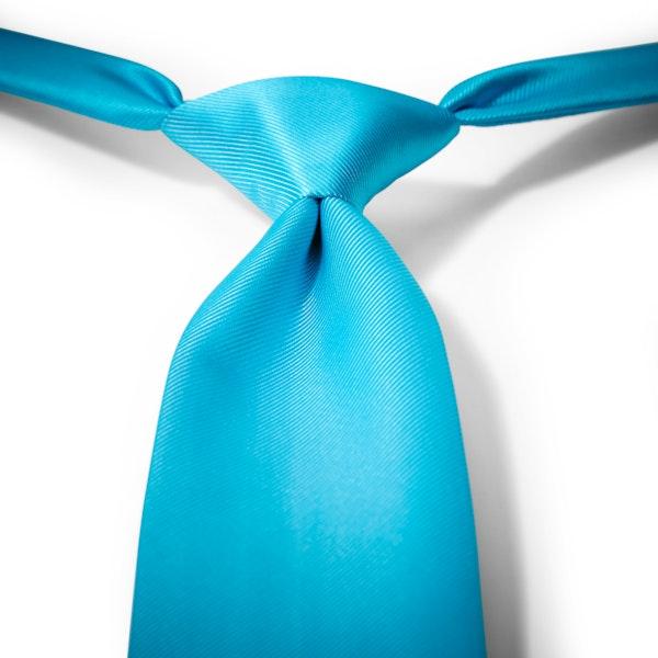 Aqua-Malibu Pre-Tied Tie