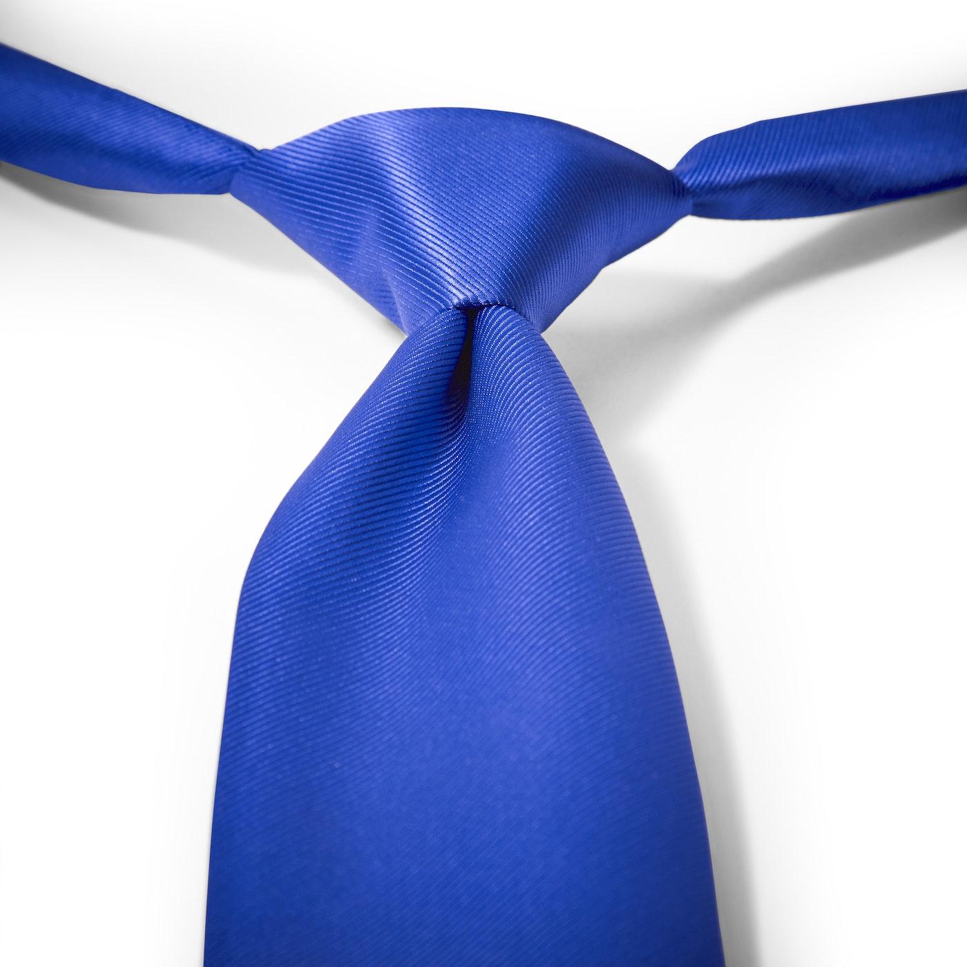 Royal Blue Pre-Tied Tie