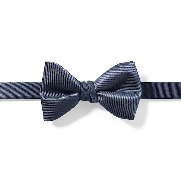 Dark Navy Pre-Tied Bow Tie