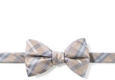 Biscotti Plaid Pre-Tied Bow Tie
