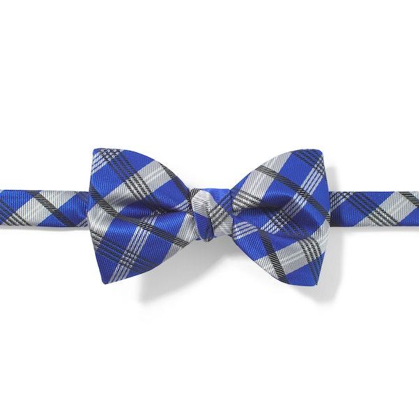Horizon Plaid Pre-Tied Bow Tie