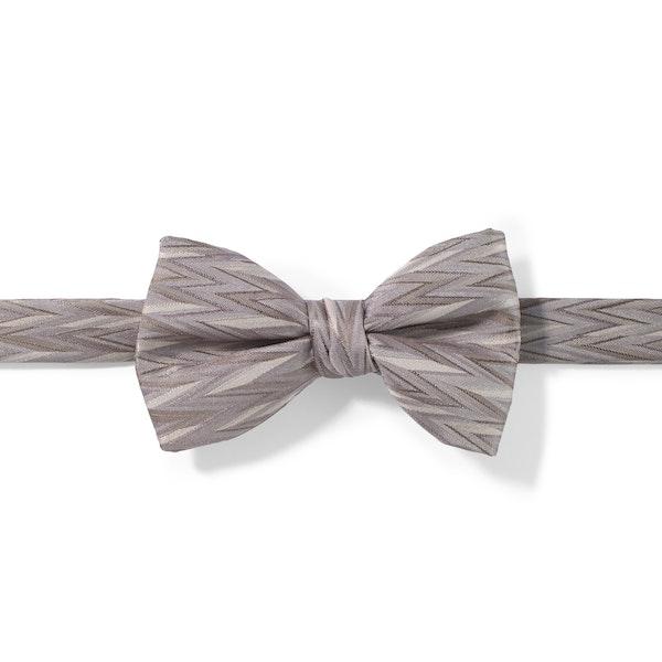 Portobello Zig Zag Pre-Tied Bow Tie