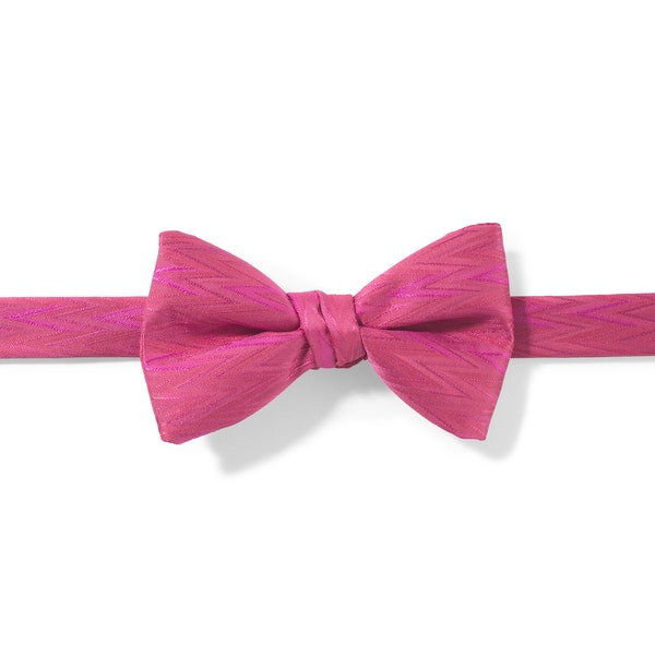 Watermelon Zig Zag Pre-Tied Bow Tie