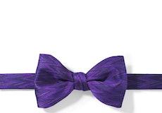 Viola Zig Zag Pre-Tied Bow Tie