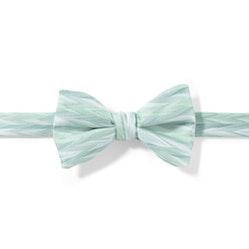 Mint Zig Zag Pre-Tied Bow Tie