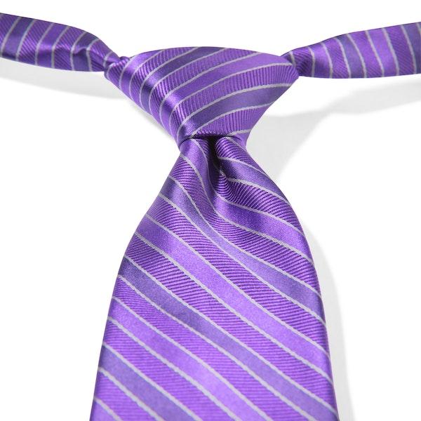 Viola Striped Pre-Tied Tie