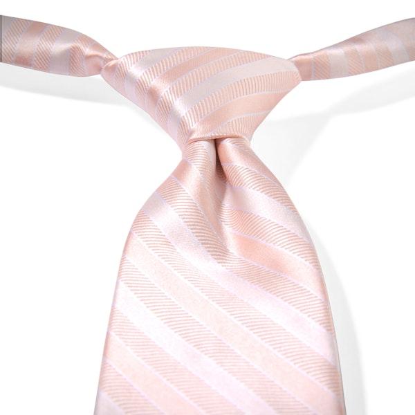 Petal Striped Pre-Tied Tie