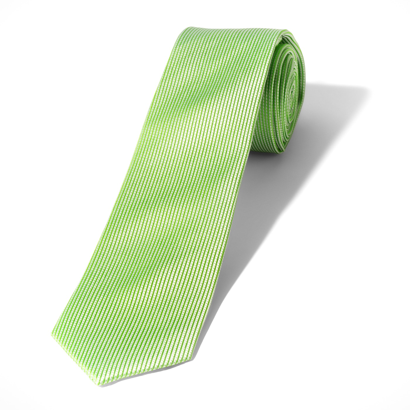 Bright Green Dobby Tie
