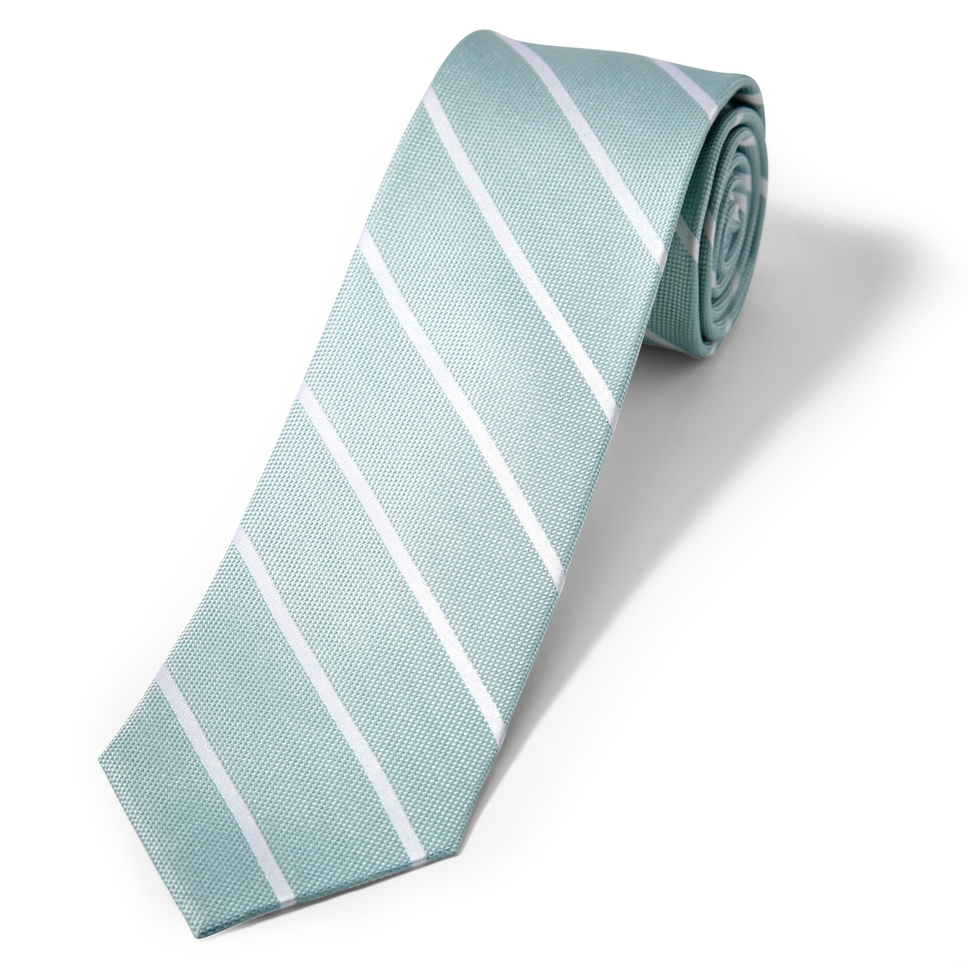 Mint Thin Stripe Tie