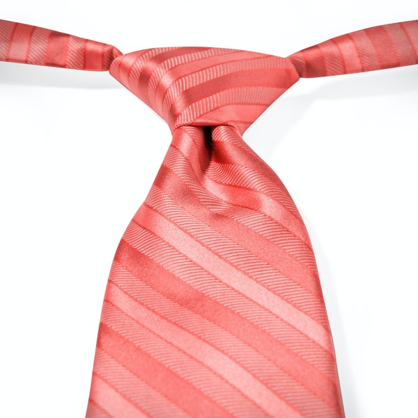 Coral Reef Striped Pre-Tied Tie