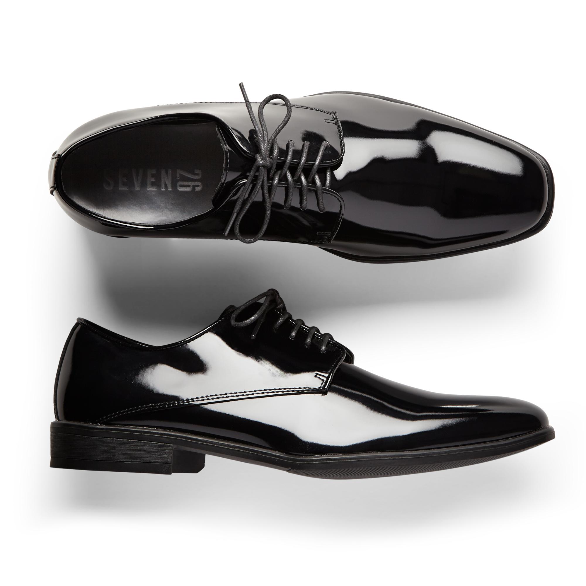 Glossy Black Tuxedo Shoes | Generation Tux