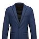 Mystic Blue Edge Notch Lapel Tuxedo