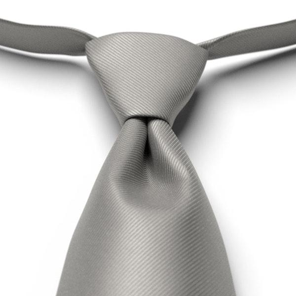 Mercury Solid Pre-Tied Tie