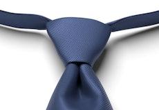 Marine Solid Pre-Tied Tie