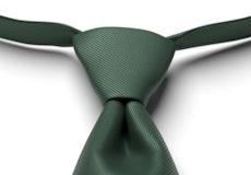 Hunter Solid Pre-Tied Tie