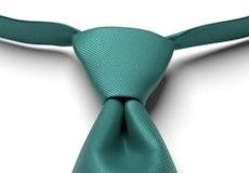 Jade Solid Pre-Tied Tie