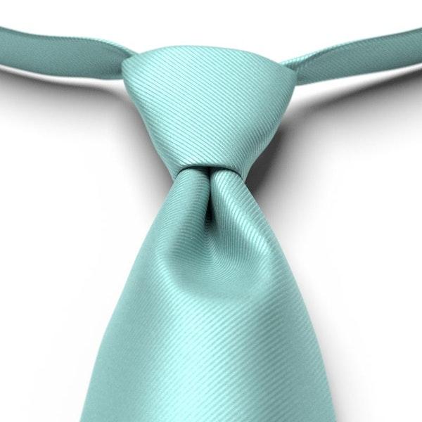 Pool Solid Pre-Tied Tie