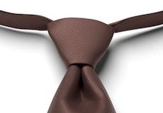 Cocoa Solid Pre-Tied Tie