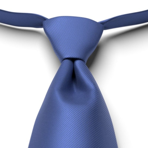 Morning Glory Solid Pre-Tied Tie