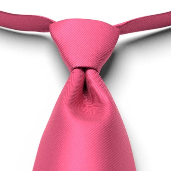 Bright Fuchsia Solid Pre-Tied Tie
