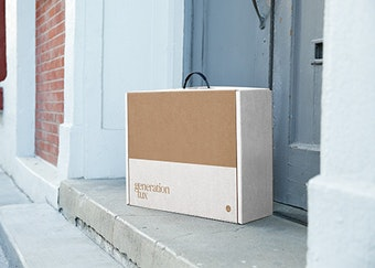 generation tux box on doorstep after delivery