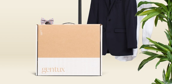 Generation Tux Box with bow tie and black tux