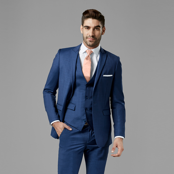 Mystic Blue Peak Lapel Suit