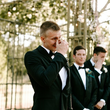 Black Peak Lapel Tuxedo - Image by Local Embers