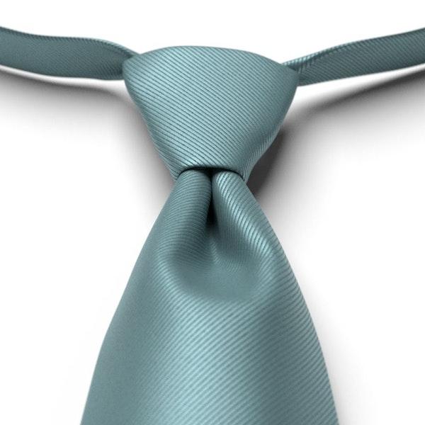 Teal Blue Pre-Tied Tie