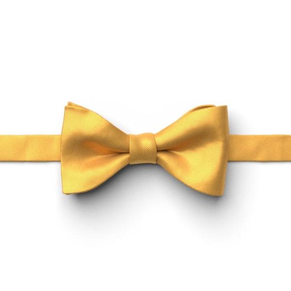 Saffron Pre-Tied Bow Tie