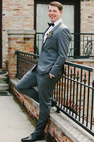 Iron Gray Peak Suit