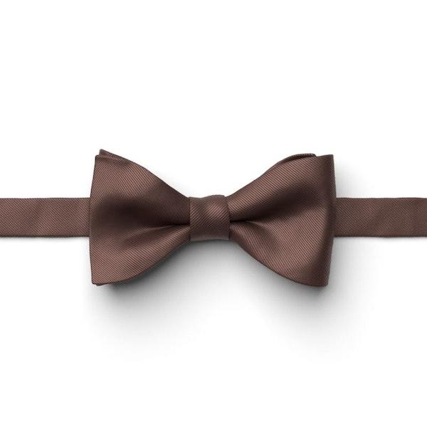 Chocolate Pre-Tied Bow Tie