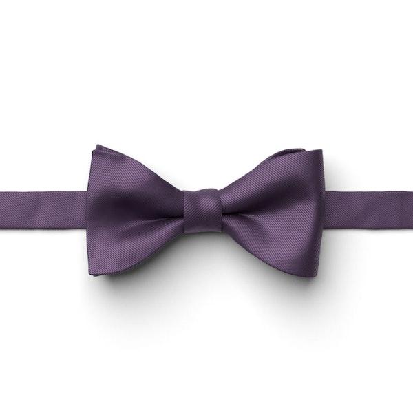 Eggplant Pre-Tied Bow Tie
