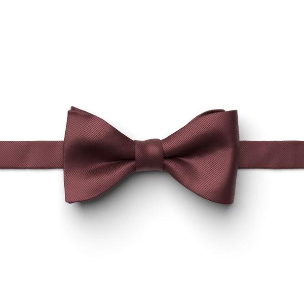 Merlot Pre-Tied Bow Tie
