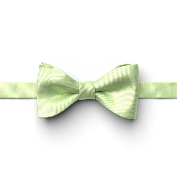 Lime Pre-Tied Bow Tie