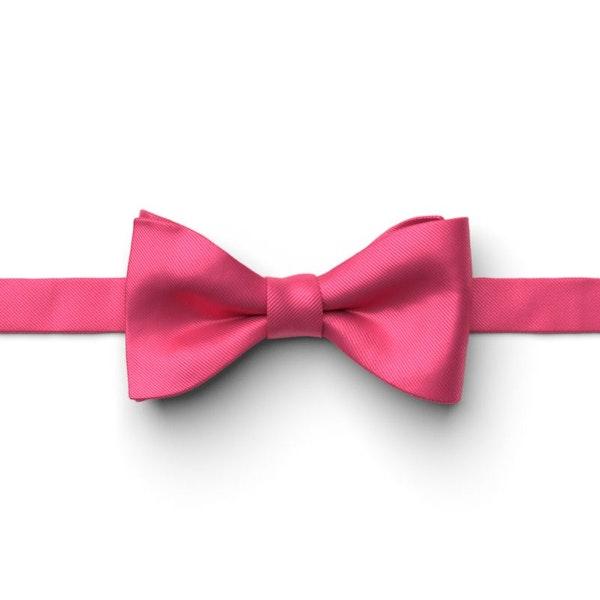 Fuchsia Pre-Tied Bow Tie